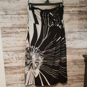 The Limited Tube strapless Dress Size Small Black